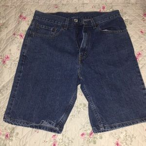Men's Levi's denim shorts 505 size 33 regular fit